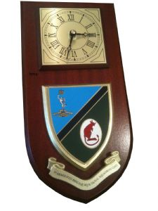 7th Armoured Brigade HQ and Signal Squadron 207 Wall Plaque Clock
